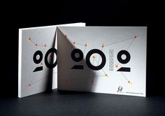 2012 Greetings Cards designed by Fred Dauzat; letterpress printing by Badcass; photography by Jonathan Martinez. (© 2011)
