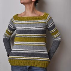 Great stripes, great colours Ravelry: bouillesdecotons Spring Lines