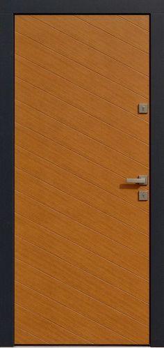 Dębowe wejściowe drzwi zewnętrzne 432,1 zloty dab + antracyt