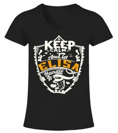 # ELISA .  * Special Offer, not available anywhere else ! >>> All names :https://www.teezily.com/stores/all-names      - Available in a variety of styles and colors.- Buy yours now before it is too late !      * Secured payment via Visa / Mastercard / Amex / PayPal / iDeal- Mugs :- Necklace :