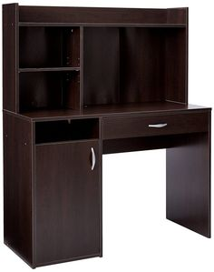 Shop a great selection of Sauder Beginnings Desk Hutch, Cinnamon Cherry finish. Find new offer and Similar products for Sauder Beginnings Desk Hutch, Cinnamon Cherry finish. Computer Armoire, Computer Desk With Hutch, Desk Hutch, Vanity Desk, Desk Shelves, Computer Desks, Shelf, Small Computer, Best Computer