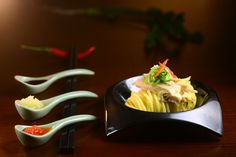 New Style Hainanese Chicken Noodles