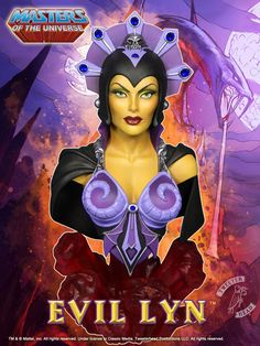 Masters of the Universe - Bust: Evil-Lyn