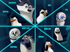 This is an art of the Penguins and the North Wind from Penguins of Madagascar movie. Penguins and North Wind Dreamworks Movies, Dreamworks Animation, Disney And Dreamworks, Madagascar Movie, Lego Jurassic World, Smile And Wave, Anime Style, Tmnt, I Movie
