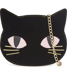 SKINNY DIP - Cat clutch | Selfridges.com