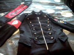 Uniform coat and shirt