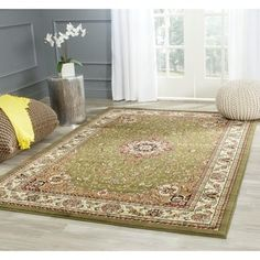 Shop for Safavieh Lyndhurst Traditional Oriental Sage/ Ivory Rug (10' x 14'). Get free shipping at Overstock.com - Your Online Home Decor Outlet Store! Get 5% in rewards with Club O! - 17097433