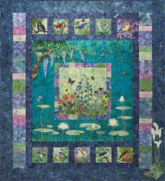 McKenna Ryan Bella Garden Complete Quilt Laser Cut Quilt Kit Quilting DIY 6 Kits and Borders Free US Shipping