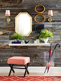 You won't believe how this barnyard wall was created!