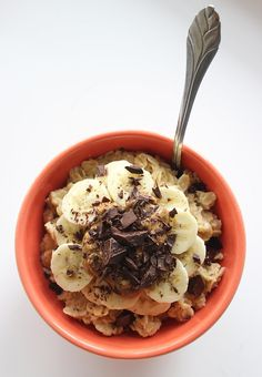 Breakfast or snack Healthy Chocolate Oatmeal