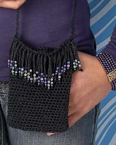 Cool Crochet - Purse (crochet) - ok, I must to learn how to crochet ;)