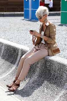 Street Style: Thestreetfashion5xpro: In the Street...Esther Quek...inspired by firefighter jackets