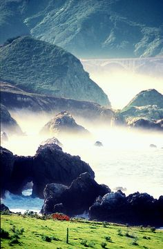 Big Sur, California. Beautiful photo by Aremac.