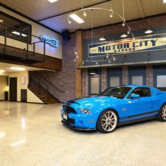 Love this garage!  On the Wish List!