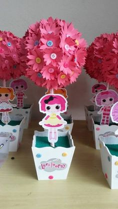 Lalaloopsy centro de mesa Bday Girl, Baby 1st Birthday, 1st Birthday Parties, Lalaloopsy Party, Doll Party, Diy Party Decorations, Birthday Decorations, Fancy Nancy, Zen