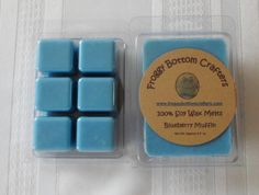 Blueberry Muffin Pure Soy Wax Melts Soy by FroggyBottomCrafters