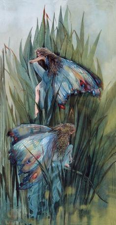 Damsel Fairies by Truidi Finch