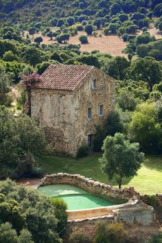 Rustic Italian Home Rustic Italian, Italian Villa, Stone Cottages, Stone Houses, Italy House, Rural House, French Architecture, House Architecture, French Country