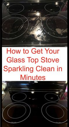 How to Get Your Glass Stovetop Sparkling Clean in Minutes