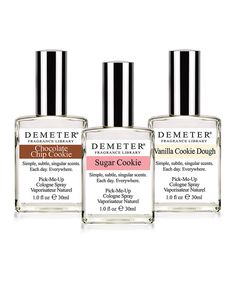 Look at this Demeter Cookie Jar Cologne - Set of Three on #zulily today!