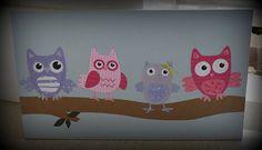 handmade owl wall art $30