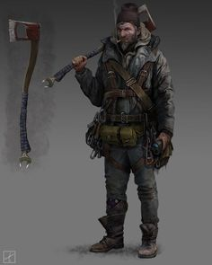 Character by pavellkid on deviantart post-apocalyps Post Apocalypse, Apocalypse Survivor, Apocalypse World, Zombies, Character Concept, Character Art, Concept Art, Artwork Cd, Fallout