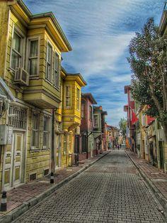 Türkiye.İstanbul.Eminönü. Kumkapı.Kadırgadan bir sokak