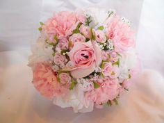 rosa blumenstrauß mit wunderschönen blumen dekoration deko mit blumen