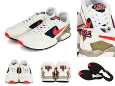 NIKE AIR PEGASUS 92 QS(617125-641) CHLLING RED/MID NVY-WHITE-WHITE