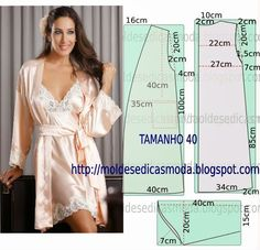 ROBE DO EASY - 5 ~ Templates Fashion by Measure