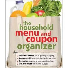 Household Menu and Coupon Organizer, The : $5.99