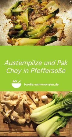 Fusion Food, Pak Choy, Tasty, Yummy Food, Vegan Dishes, Zucchini, Low Carb, Vegetarian, Beef