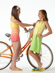 Royalty free photo! Tween girls with a bike. There's no cost for using the shots, but we do ask that you credit the photos to us with a link to www.fashionplaytes.com. Tween Girls, Royalty Free Photos, Girl Fashion, Cool Outfits, Shots, Take That, Bike, Photoshoot, Clothes