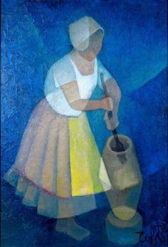 Paysanne de Bahia by Louis Toffoli