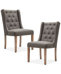 Bodell Set of 2 Dining Chairs, Quick Ship - Dining Room Chairs & Benches - Furniture - Macy's