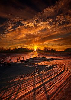 """The Miles Back Home to You"" Horizons by Phil Koch."