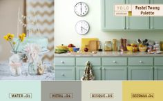 Pastel Twang - Spring Color Trends from YOLO Colorhouse