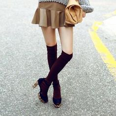 Buy 'chuu – Over the Knee Socks' with Free International Shipping at YesStyle.com. Browse and shop for thousands of Asian fashion items from South Korea and more!