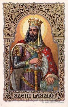 Postcard: Set of Religious Saints Vizsla, Hungarian Tattoo, Hungary History, Saints, Holy Roman Empire, Budapest Hungary, Sacred Art, Science Art, Illustrations And Posters
