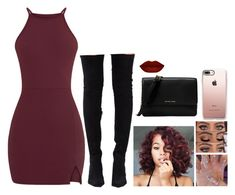 """""""Untitled #625"""" by bosslanaia ❤ liked on Polyvore featuring Jeffrey Campbell, Casetify and Michael Kors"""