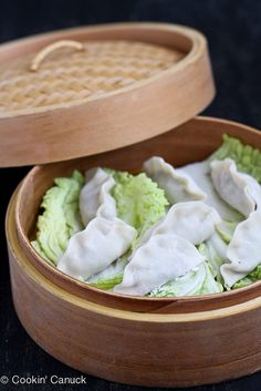Steamed Shrimp & Mushroom Dumplings Recipe for Chinese New Year by Cookin' Canuck #ChineseNewYear #shrimp #dumplings by CookinCanuck, via Flickr