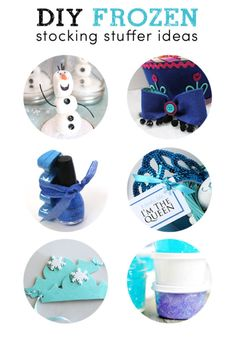 Frozen toys are going to be a hot gift item this season! These DIY stocking stuffers are sure to be a hit!