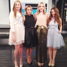 On Set at E! News with Lauren Conrad