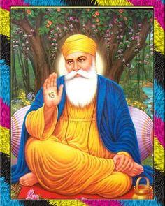 Guru Nanak Photo, Guru Nanak Ji, Nanak Dev Ji, I Miss You Wallpaper, Photo Wallpaper, Screen Wallpaper, Founder Of Sikhism, All God Images, Guru Nanak Teachings