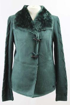 Chaqueta con pelo y lana de Jocavi en www.clfashionable.com