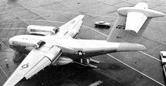 Prototype of Boeing YC-14 STOL Transport...