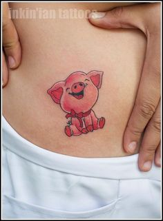 I might need a piggy tattoo :) yeah this one is better but i wonder if it would hurt more