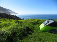 Sand, surf and sleeping bags. Set up camp at one of these beach campsites pronto!