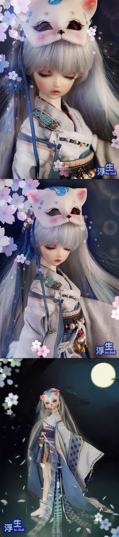 Bjd Clothes 1/4 Girl Kimono/Life CL42151006 for MSD Ball-jointed…