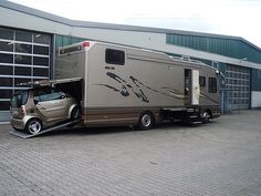 I think I found my next RV its perfect for my smart car. But I need both car and rv in red and black
